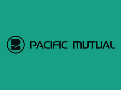 The stylized Pacific Mutual logo first appeared in 1972.