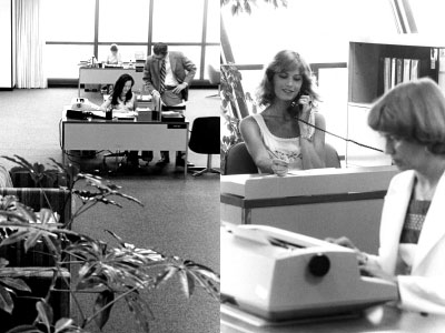 Pacific Life's Newport Beach facility in the 1970s and 1980s.